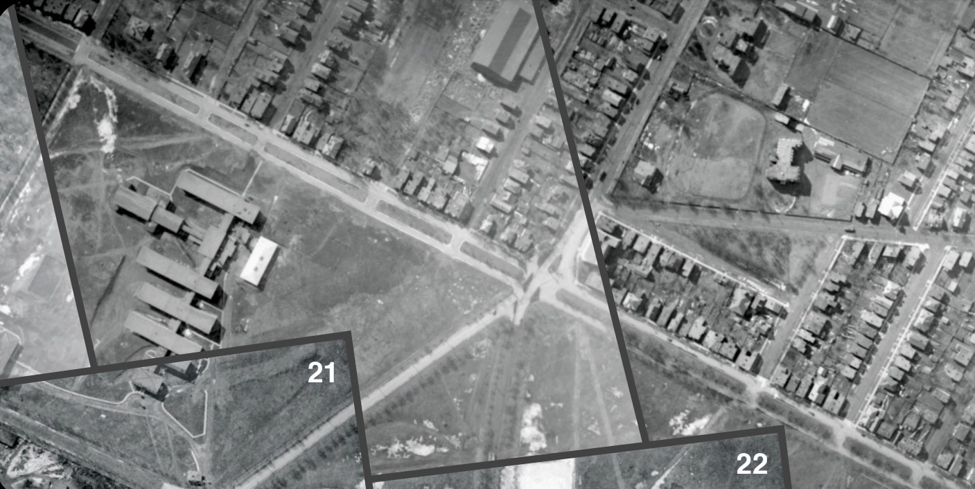 Shirley St and The George location circa 1921